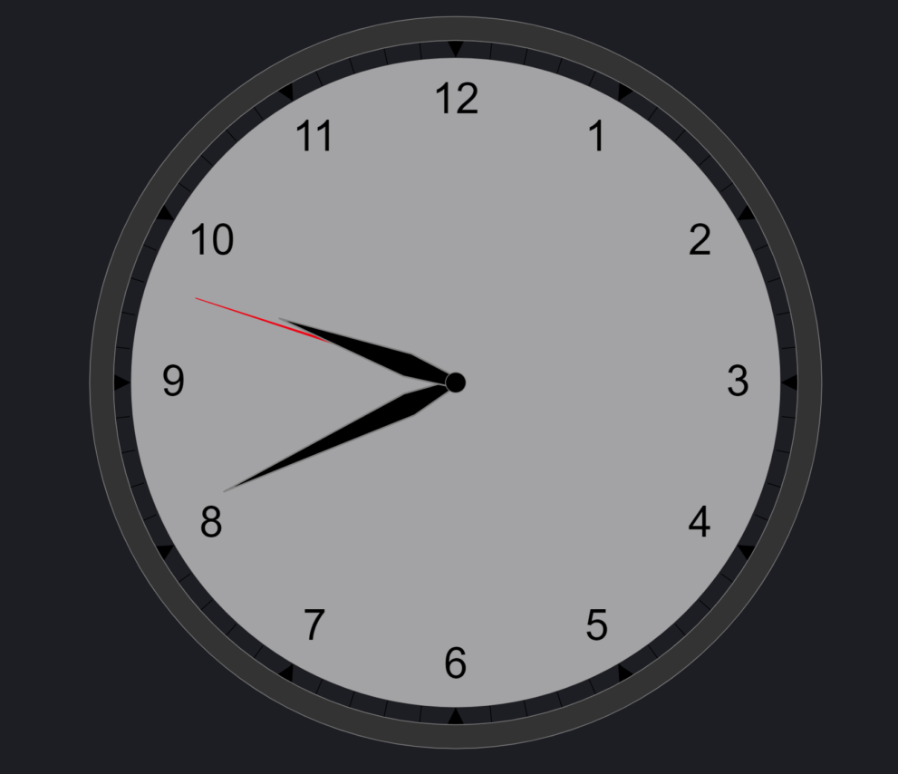 vega clock